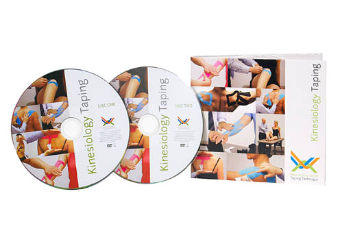 NSTT - Kinesiology Taping DVD (2 DVD set)